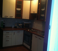 kitchen and dining  9,80 m2