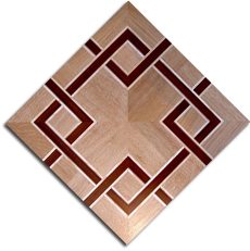 Mosaic parquet