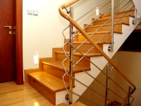 Wooden carpentry, indoor staircases, doors and frames